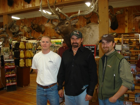 Brendan Burns, Doyle Moss, and Jason Matzinger